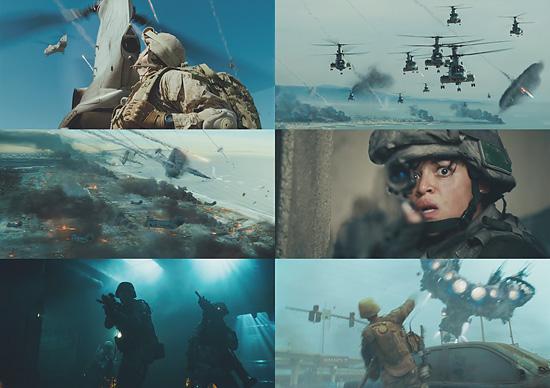 映画『世界侵略:ロサンゼルス決戦(Battle: Los Angeles)』のトレーラーが公開