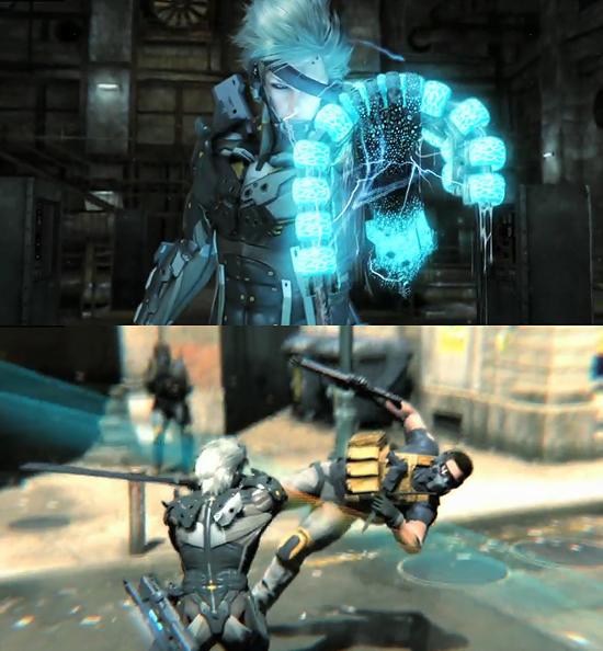【3DCG】 ゲーム『METAL GEAR SOLID RISING』の動画が公開