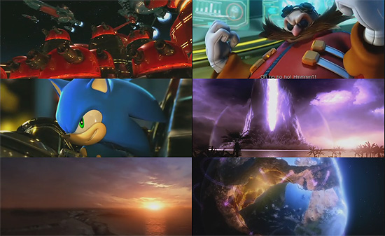 【タレコミ】 すばらしいレイアウトとアニメーション『ソニックワールドアドベンチャー』オープニングCG