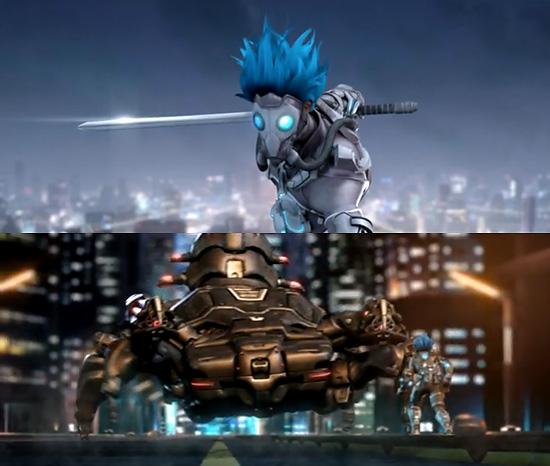 【3DCG】 アニメーションがかっこいい!『Azureus Rising - Proof of Concept』