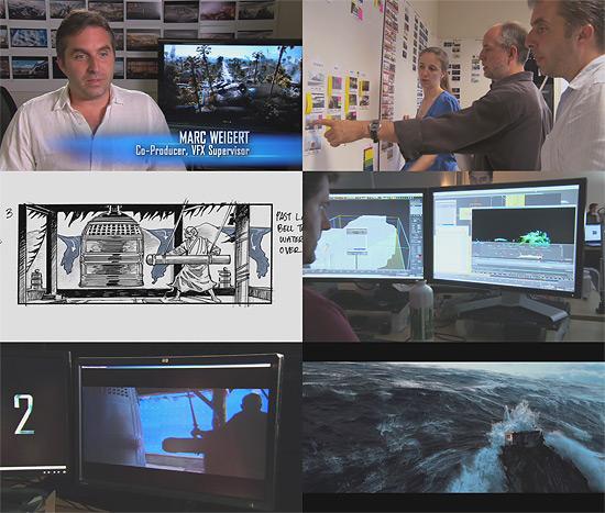 【3DCG】 映画『2012』の波に関するメイキング映像