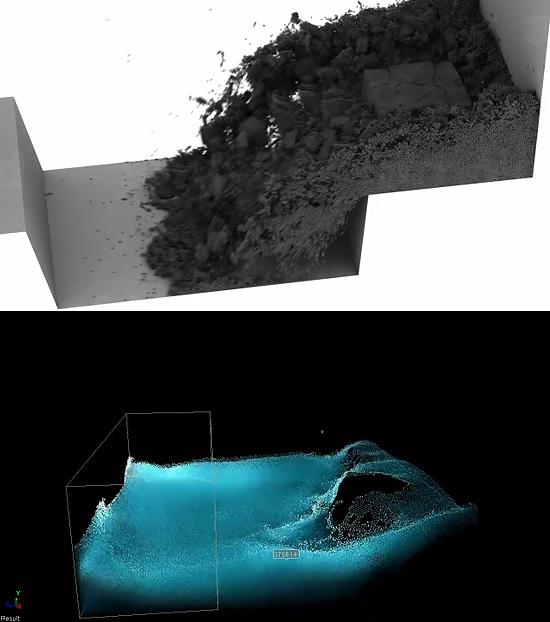 湿った砂っぽい粒子のシミュレーションも可能な『Lagoa Multiphysics 1.0』