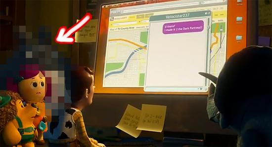 【3DCG】 『TOY STORY3』にトトロが友情出演。その姿がトレーラーで登場。