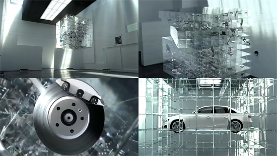 Audi A4 2.0 TDI Intelligently Combined German TVC