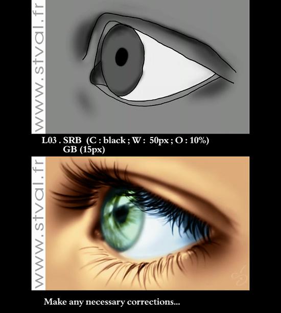 リアルな瞳の描き方