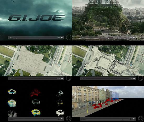 【3DCG】 映画『G.I.ジョー』のデジタルドメインによるメイキング