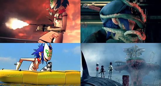 【3DCG】 ライティングがすんばらしい。Gorillaz『On Melancholy Hill』のPV