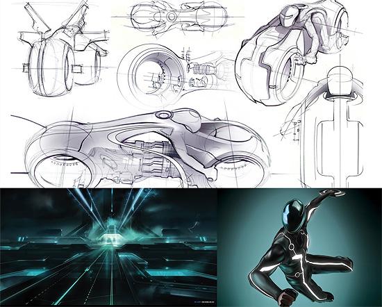 【3DCG】 映画『TRON Legacy』の31点のコンセプトアート