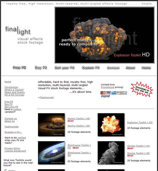 【3DCG】 爆発素材専門の素材ショップ『Final Light