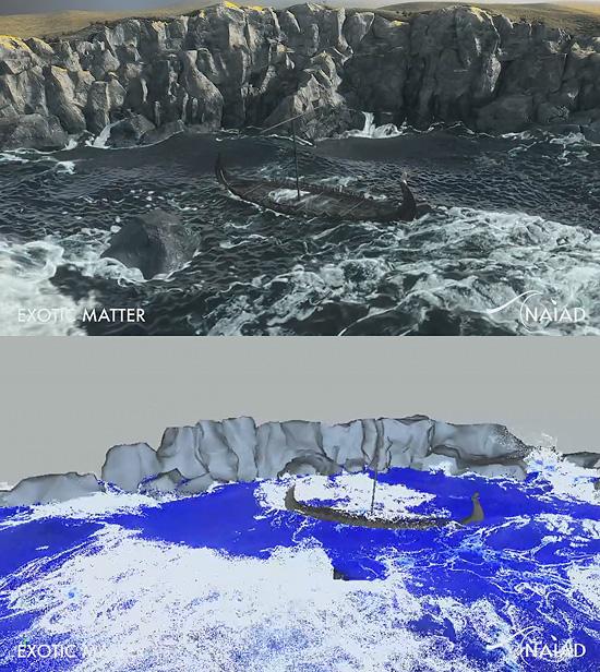 水のシミュレーションソフト『Naiad』の映像