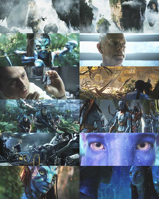 【3DCG】 映画『Avatar』の第2弾トレーラーが公開される。世界観が奇麗。