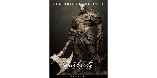キャラモデリングのチュートリアル本 Dartiste『Character Modeling 4』のリリース予定されている