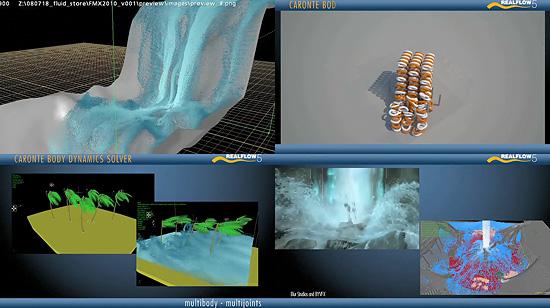 【3DCG】 『Real Flow 5』の機能紹介ムービーが公開される