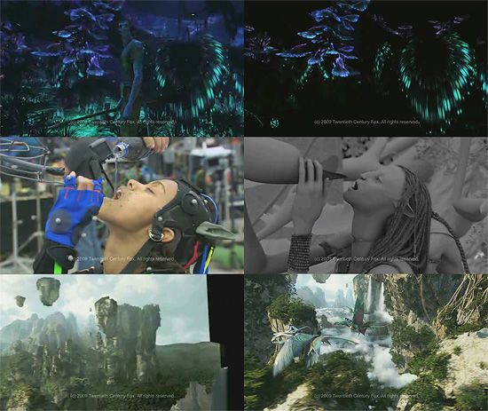 【3DCG】 ネタバレ注意! WetaDigitalによるAVATARのメイキング映像が公開
