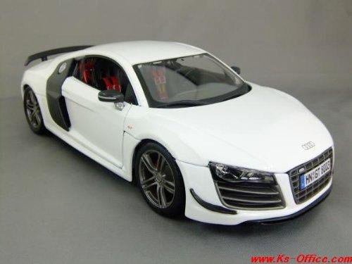 【アウディ】R8 GT(ホワイト) 1/18モデルカー(ミニカー)