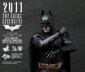 国内流通700体限定【ムービー・マスターピース】 『バットマン ビギンズ』 1/6スケールフィギュア バットマン/ブルース・ウェイン (バットスーツ・ビギンズ版)