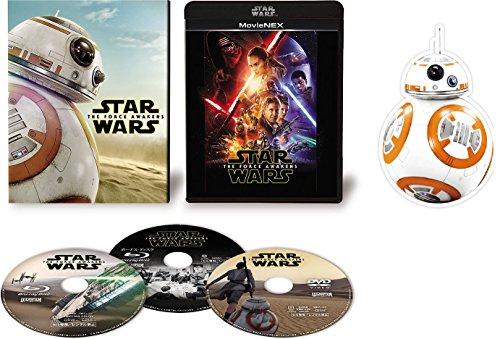 【Amazon.co.jp限定】 スター・ウォーズ/フォースの覚醒 MovieNEX(初回限定版) [ブルーレイ+DVD+デジタルコピー(クラウド対応)+MovieNEXワールド] (BB-8グリーティングカード付) [Blu-ray]