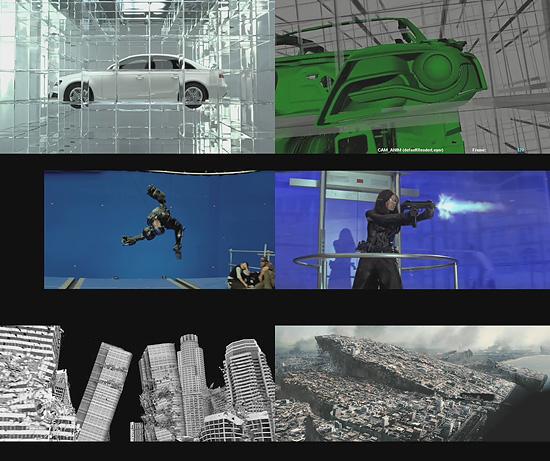 【3DCG】 デジタルドメインのHPに『Audi』、『2012』、『GIジョー』のメイキングが追加