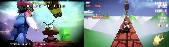 『スーパーマリオブラザーズ』をマリオ視点の動画にした作品