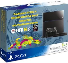 PlayStation 4×FIFA 14 2014 FIFA World Cup Brazil Limited Pack with PlayStation Camera (PS4専用ソフトウェア『FIFA 14』ダウンロード版プロダクトコード 同梱)