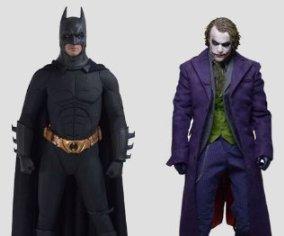 1/4 HD マスターピース コレクション/ バットマン ダークナイト: バットマン&ジョーカー アクセサリー付属 2体セット