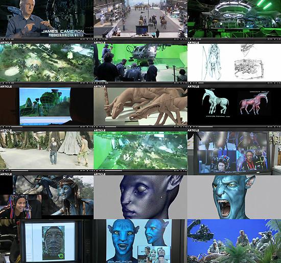 【3DCG】 23分に及ぶ 映画『AVATAR』のメイキング映像