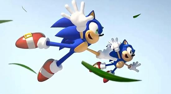 ソニックが2人?ソニック20周年記念作品『Sonic Generations』トレーラー