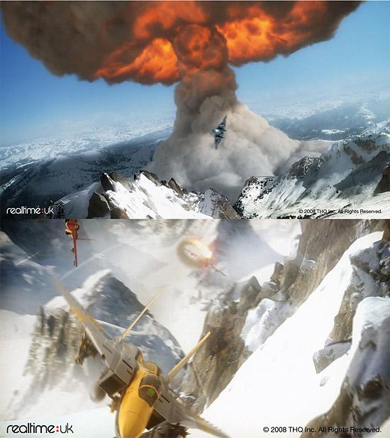 【3DCG】 爆発エフェクトがすばらしい!3DCGムービー『Stormbirds』