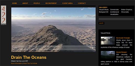 【3DCG】 海が無くなる世界を描いたCGムービー『Drain the Oceans』