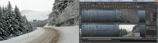 Mayaを使ったカメラマップのチュートリアル動画