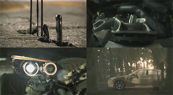 【3DCG】 車体が成長する有機的な『BMW』のCM