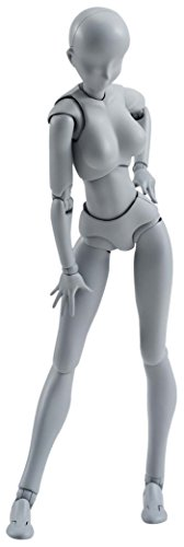 S.H.フィギュアーツ ボディちゃん DX SET(Gray Color Ver.) 約135mm ABS&PVC製 可動フィギュア
