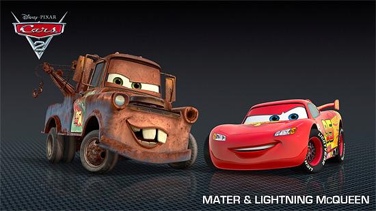 その幅2000ピクセル!映画『Cars2』の高解像度画像