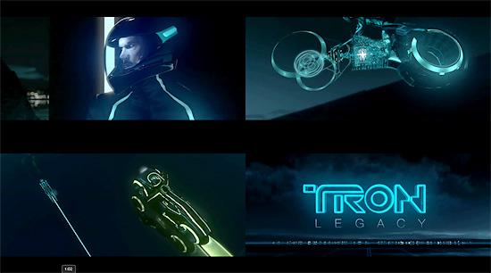【その他】 映画『TRON LEGACY』のトレーラーが公式公開される。コンセプトアートも紹介