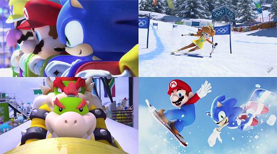 【3DCG】 これもまたすげぇ!ゲーム『マリオ&ソニック AT バンクーバーオリンピック』のCGムービー