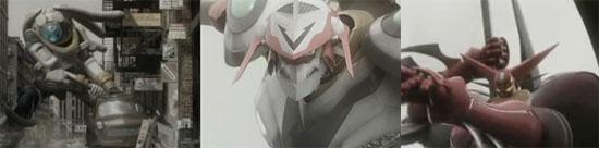色んなアニメのロボットが登場するカッチョイイCGムービー