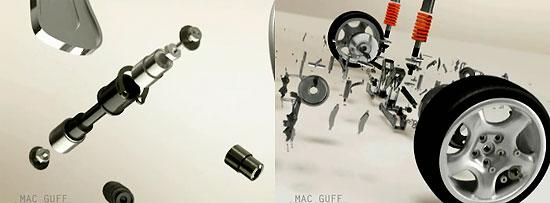 【3DCG】 車のCMかなと思いきや、アディダスのCM