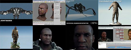 【3DCG】 『Crysis』で活用されるCryEngine2の22分ビデオ