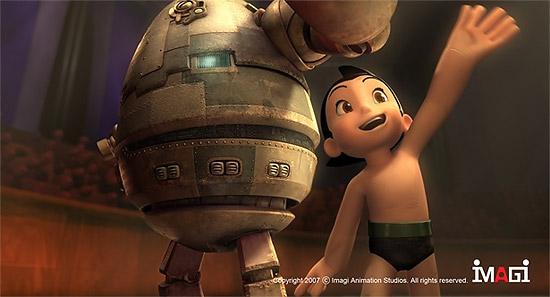 CG映画版『鉄腕アトム』の一枚絵が公開