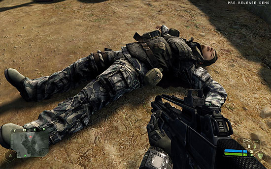 【3DCG】 ゲーム『Crysis』無料体験版リリース。