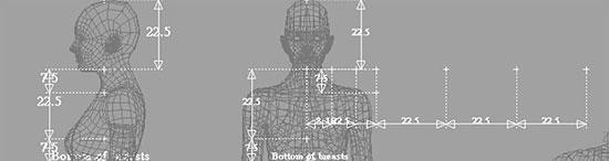【3DCG】 女性の全身モデリング チュートリアル