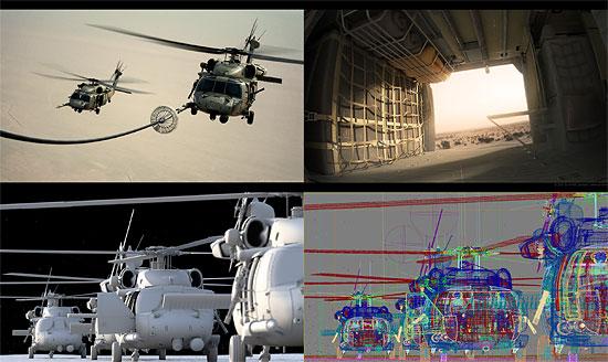 【3DCG】 軍用ヘリ 『Pave Hawk』 CGメイキング Part2と 2つのフォーラム
