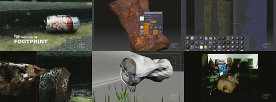 【3DCG】 ポイすてされた空き缶が腐敗していく様子を描いたCMとメイキング