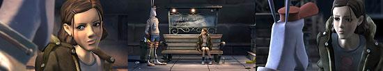 【3DCG】 短編CG作品 『Annie and Boo』