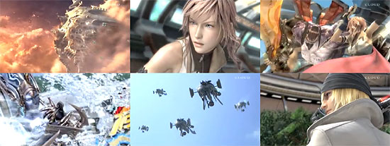 【3DCG】 新しい PS3『Final Fantasy XIII』 CGムービー