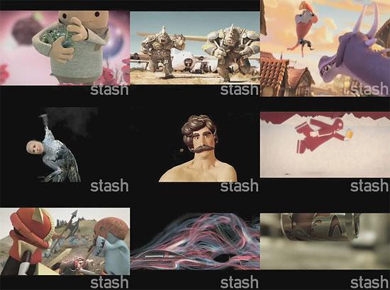 【3DCG】 モーション・グラフィックスDVDマガジン『Stash40』プレビュームービー