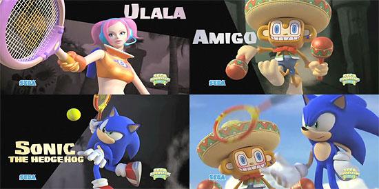 【3DCG】 ウララやアミーゴも参戦!『Sega Superstars Tennis』 CGトレーラー