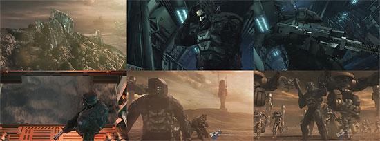 【3DCG】 変形する銃がカッチョイイ!ゲーム『Tiberium』 CGトレーラー