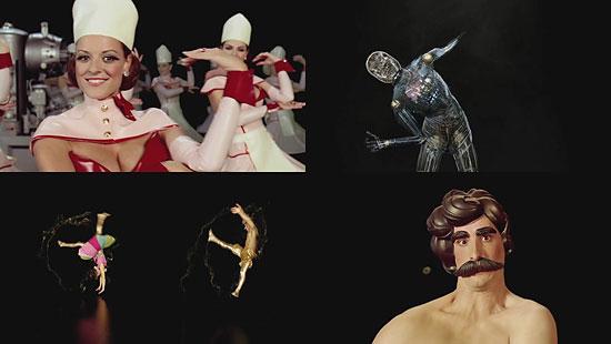 不思議な世界 MillによるPS3のCM『Meet The Entertainers』