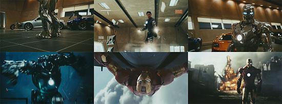 【3DCG】 カッチョよすぎる、映画『アイアンマン(IRONMAN)』テレビスポット予告公開